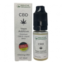 Breathe Organics Premium CBD Liquid Base 1000mg