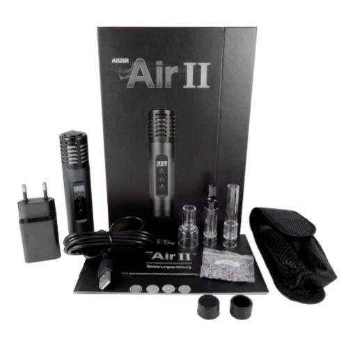 Arizer Air 2 - Carbon Black inkl. Easy Flow Bubbler