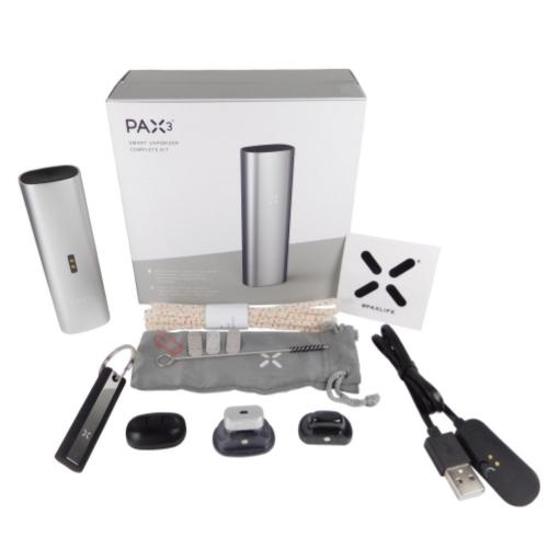PAX 3 Vaporizer Complete Kit *Platinum* Matt
