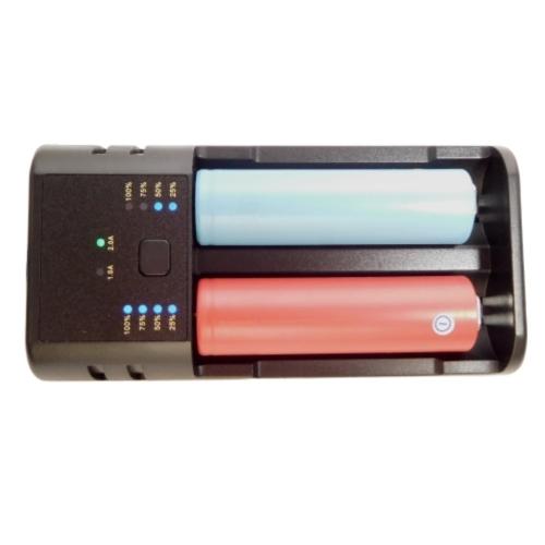 Premium Universal USB Dual Battery Charging Device