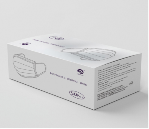 Disposable Medical Mask 50 pcs. (3 layers)