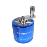 Deluxe Alu Crank Grinder with Window (50 mm) *Blue*