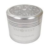 Alu Grinder with Window (63 mm) *Silver*