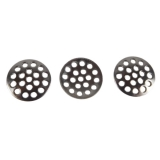 Replacement Sieves Ø 12 mm Set of 3 Perforated Plate