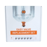Easy Valve Balloon Set (small / 6 balloons / 2 feet / 60 cm)
