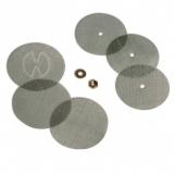 Solid Valve Sieve Set (coarse)  3x Ø 26 mm / 3x Ø 24 mm
