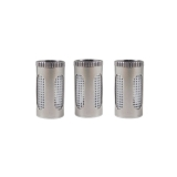 FlowerMate Dry Herb Steel Pod (3 pcs.) (Capsule for Herbs)