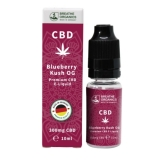 Breathe Organics 10ml Blueberry Kush OG (300mg)
