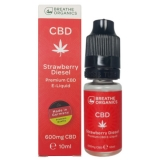 Breathe Organics 10ml Strawberry Diesel (600mg)