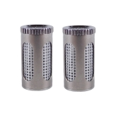 FlowerMate Dry Herb Steel Pod (2 pcs.) (Capsule for Herbs)