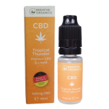 Breathe Organics 10ml Tropical Thunder (100mg)