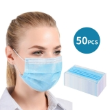 50x Disposable Medical Mask (3 layers)