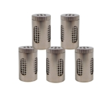 WOLKENKRAFT Buddy Dry Herb Steel Pod (5 pcs.) (Capsule for Herbs)