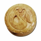 Shisham Wood Grinder Cobra Carved